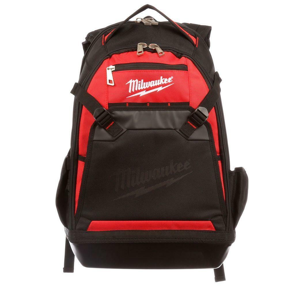 Milwaukee Tool Laptop Backpack Heavy Duty Storage Pocket