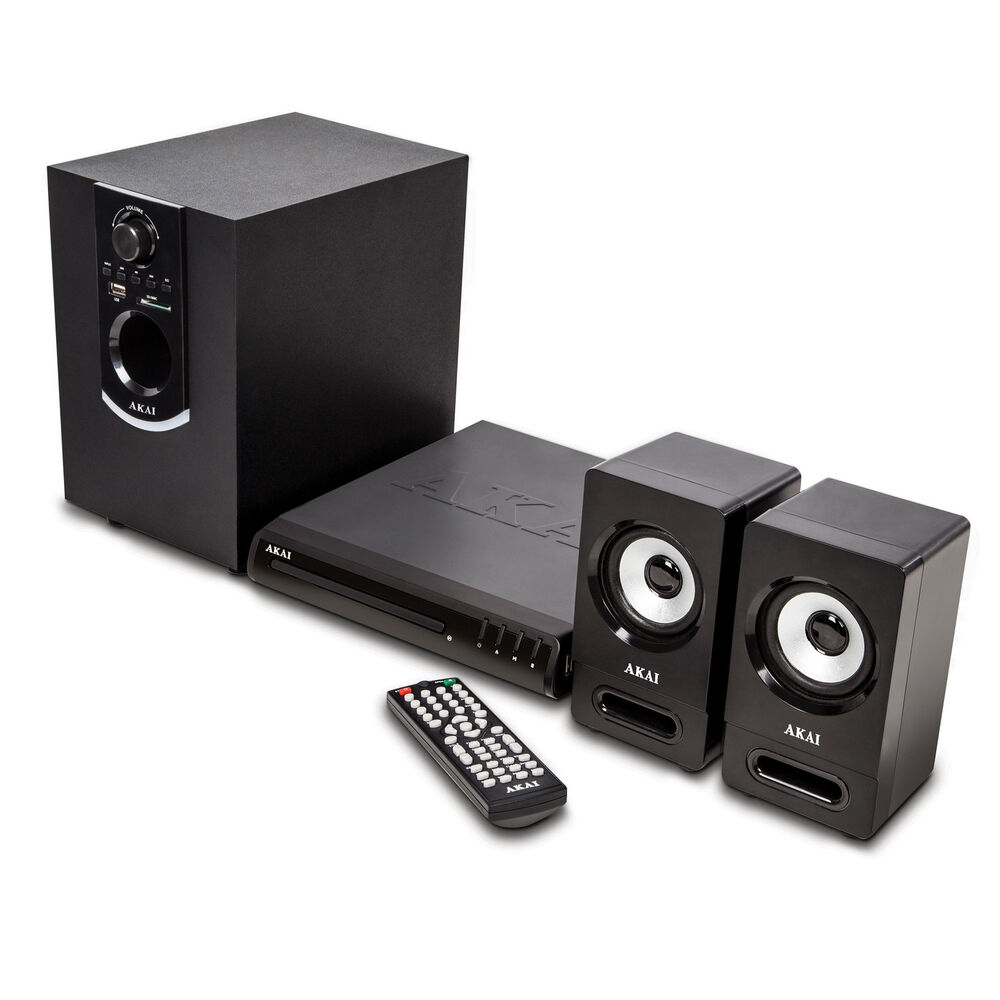 akai bluetooth surround sound speaker multimedia dvd home. Black Bedroom Furniture Sets. Home Design Ideas