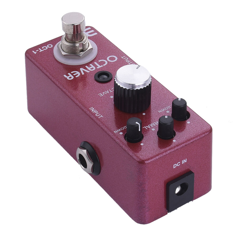 ex tc 01 octaver electric guitar effect pedal mini single guitarra effect pedal ebay. Black Bedroom Furniture Sets. Home Design Ideas