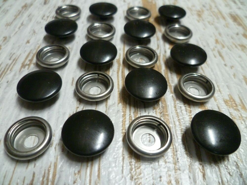 Snap fasteners stainless steel blk press studs