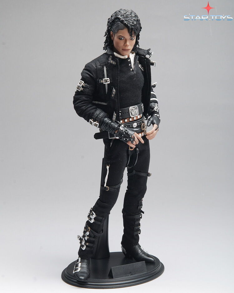 1 6th scale star toys michael jackson bad mj action figure for Jackson toys