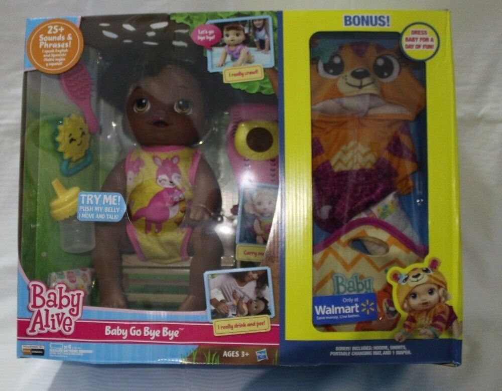 New Baby Alive Doll Exclusive Bonus With Extras African