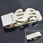 1 x money clip dollar sign card holder slim clamp stainless steel wallet purse