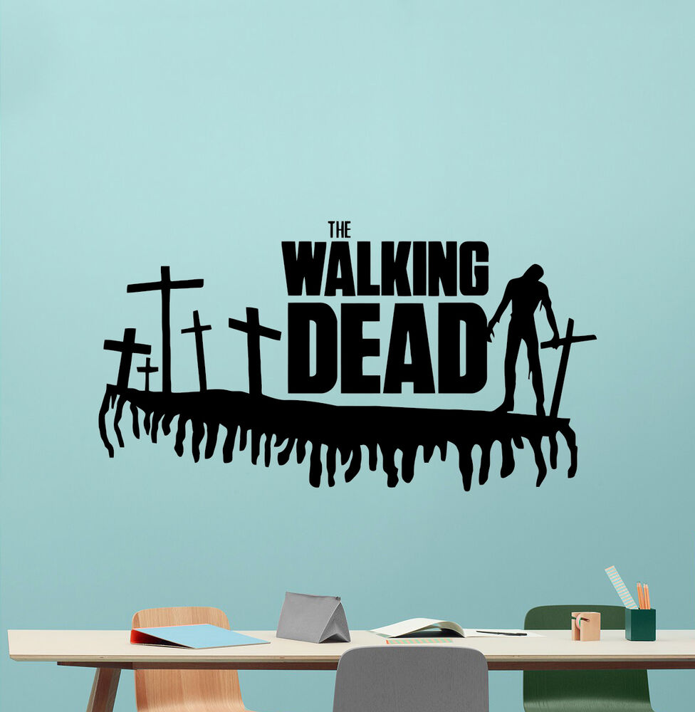 Walking dead wall decal movie vinyl sticker horror poster - Over the garden wall soundtrack vinyl ...