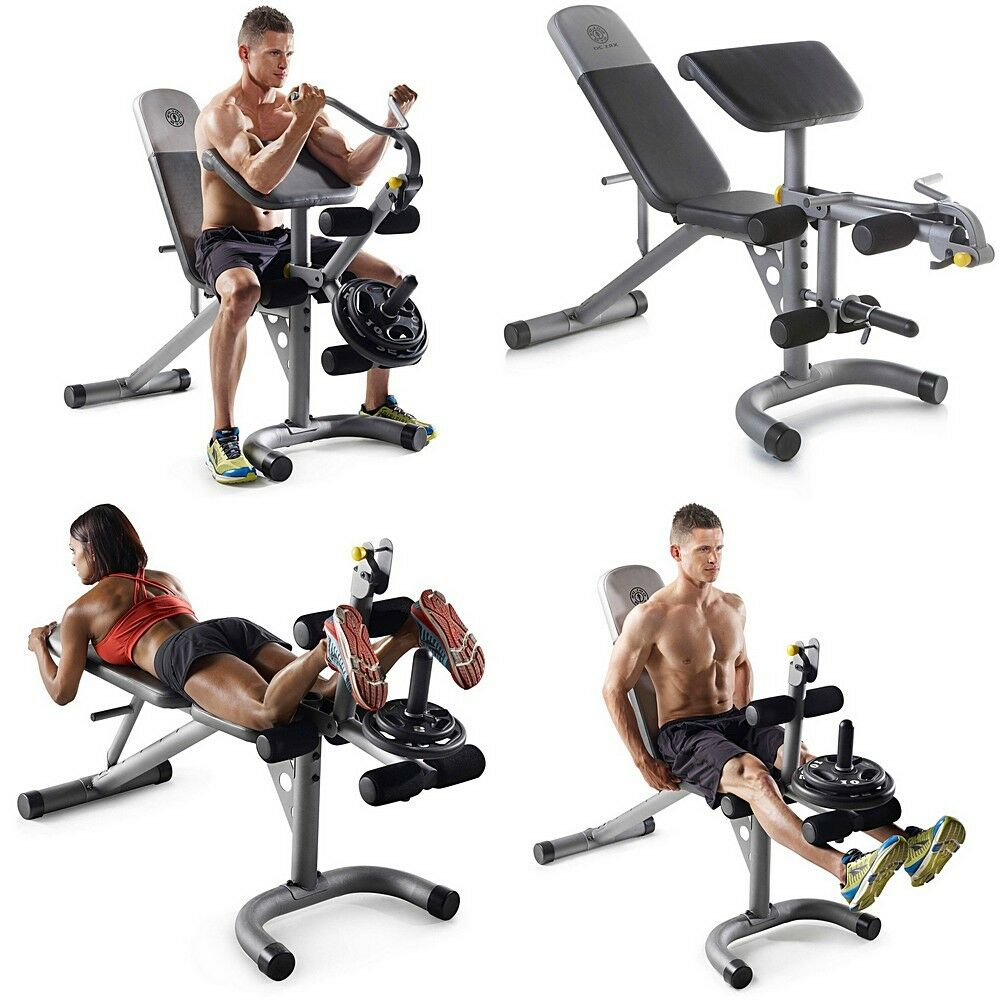 Gold S Weight Rack: Weight Workout Bench Olympic Gym Power Stand Lifting Rack