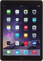 *New* Apple iPad Air 2 64GB, Wi-Fi + Cellular (Unlocked), 9.7in - Space Gray