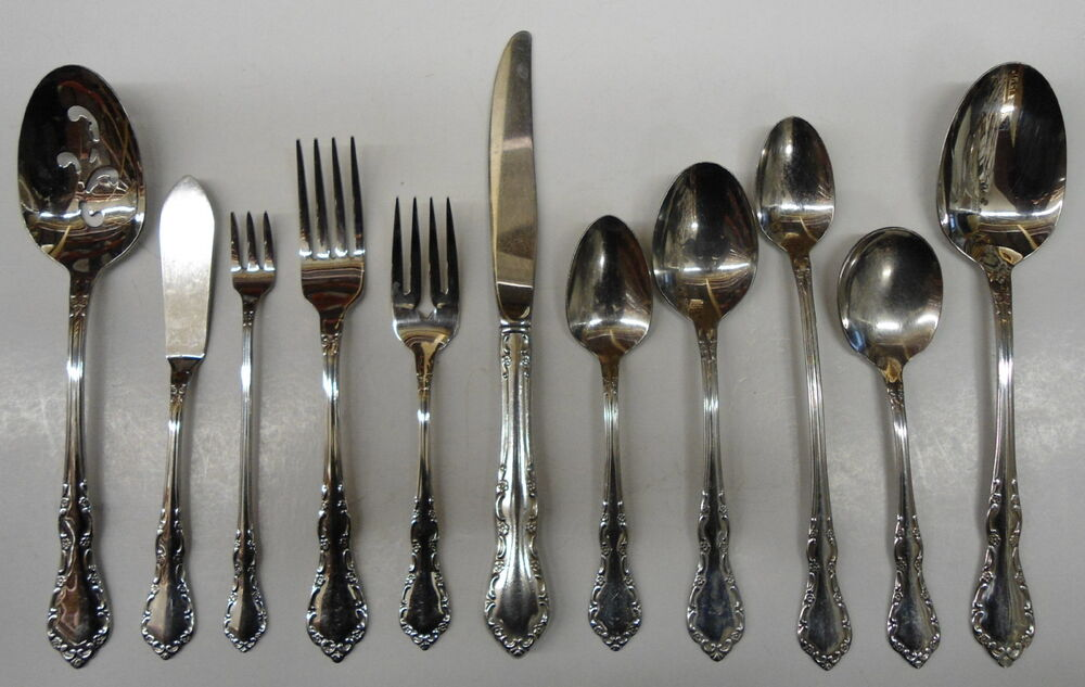 Oneida Mansion Hall Deluxe Stainless Flatware Choice