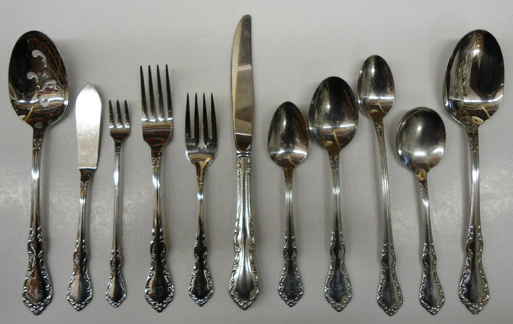 Oneida Mansion Hall Deluxe Stainless Flatware Choice Piece Ebay