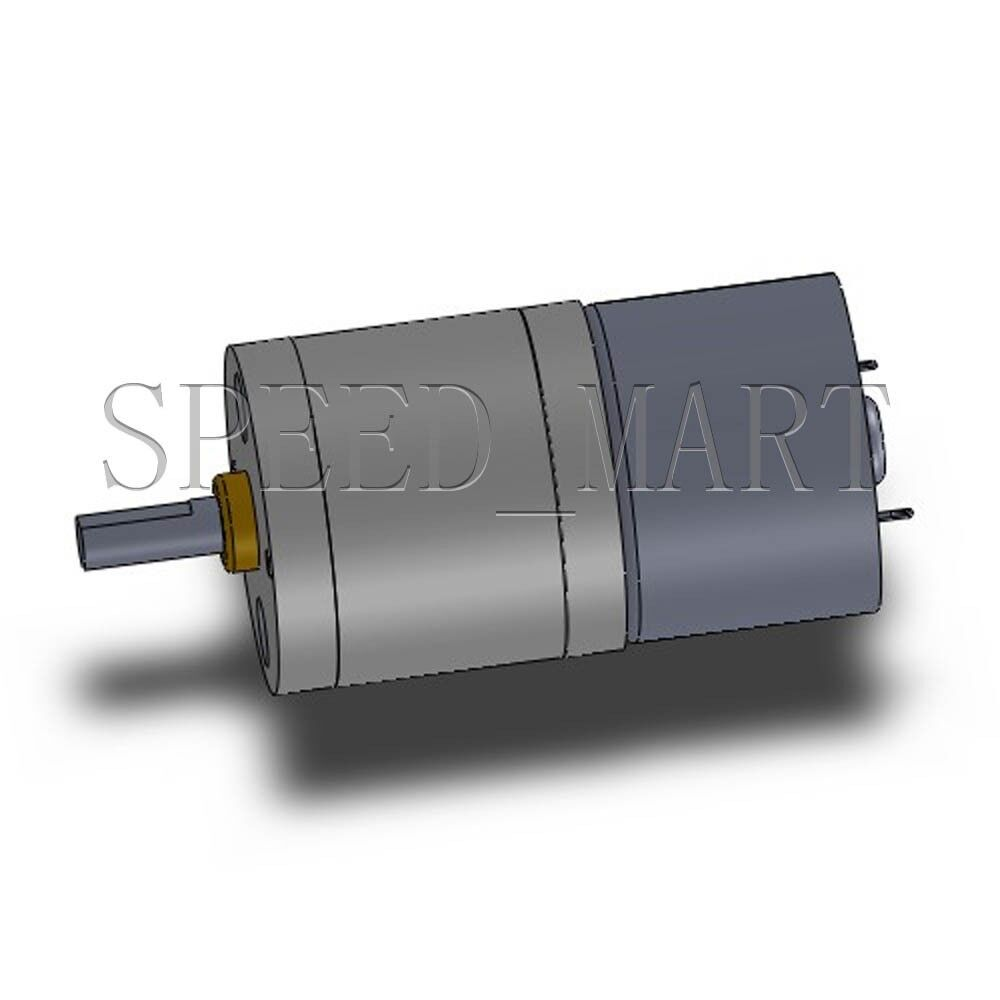 Reversible 25mm 6v Dc 44 Rpm Gear Box Speed Control