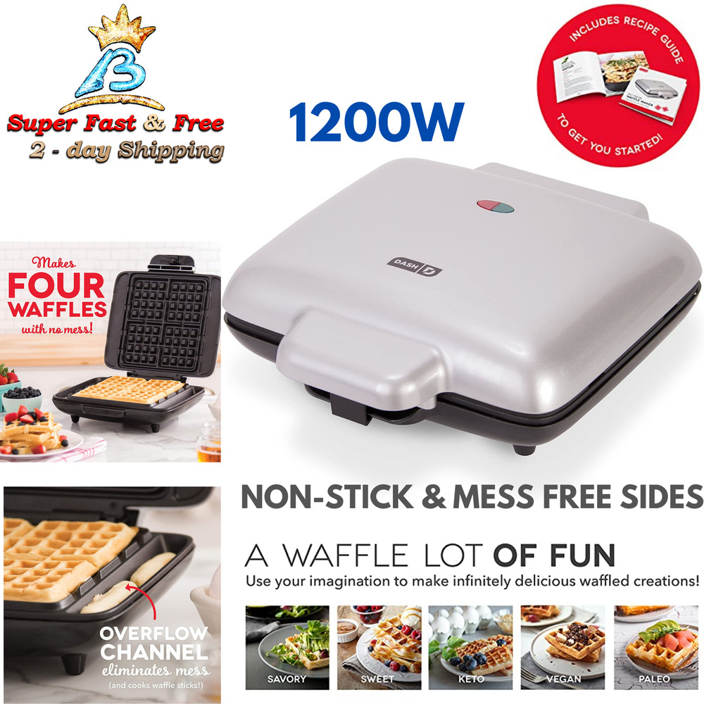 Electric Waffle Maker ~ In waffle maker electric indoor grill and griddle flat