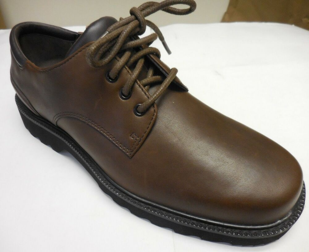 Rockport Mens Waterproof Leather Lace Up Plain Toe Shoes