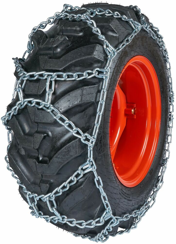 Snow Chains For Tires >> Quality Chain DUO271 10mm Duo Grip H-Pattern Tractor Tire ...