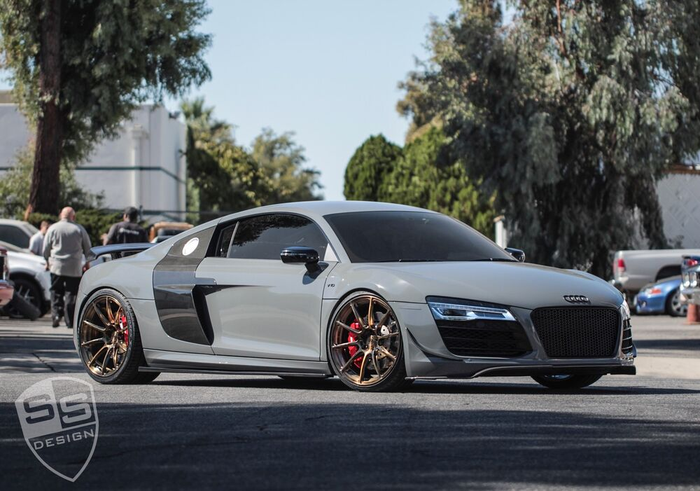 Audi R8 Signature Forged Wheels Sv103 20 Quot Inch Monoblock