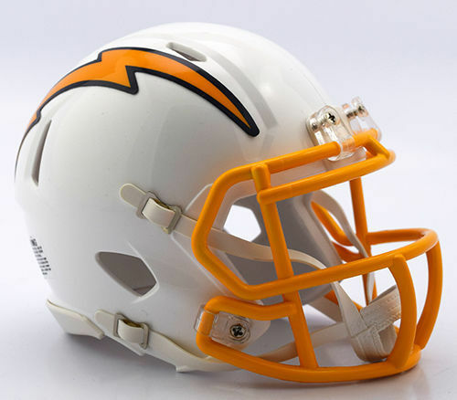 San Diego Chargers Football Helmet: San Diego Chargers NFL Mini Speed Football Helmet 2016