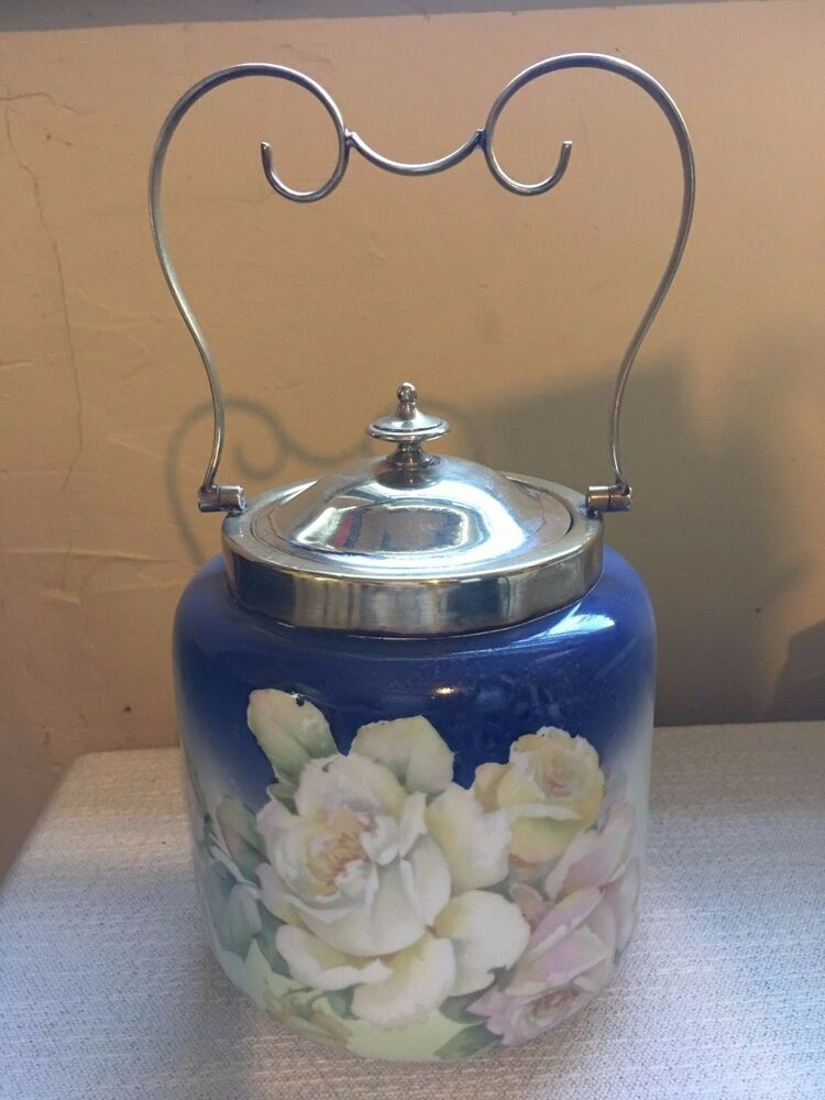 Glass Jar With Handle