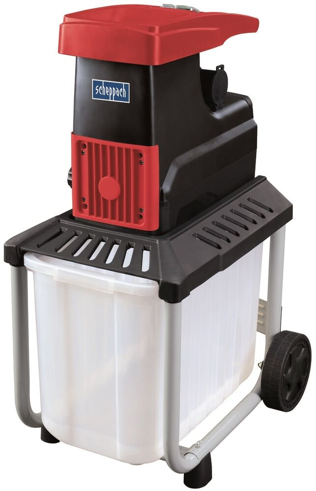 SILENT ELECTRIC GARDEN SHREDDER CHIPPER MULCHER SCHEPPACH ...