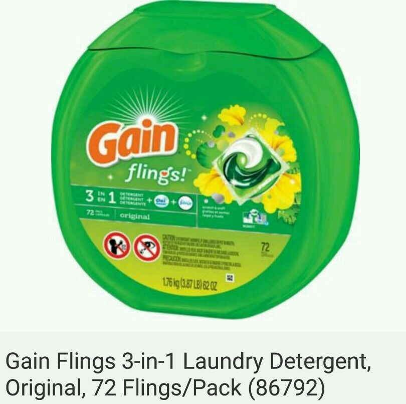 photo regarding Gain Coupons Free Printable called Profit laundry detergent pods coupon codes / Chase coupon 125 hard cash