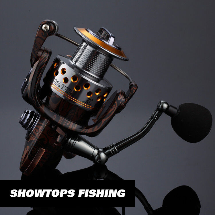 14bb fishing spinning reel metal saltwater reels for Left handed fishing reels