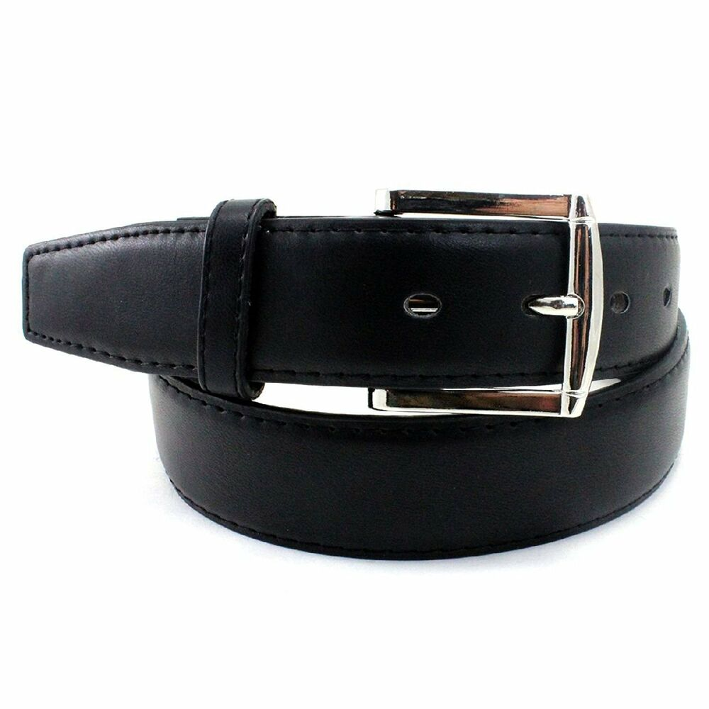 mens 5xl plus big size casual black dress leather belt w