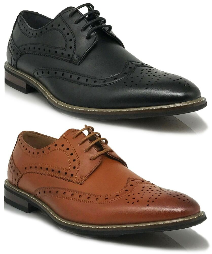 parrazo dress shoes wingtip oxford leather lined lace