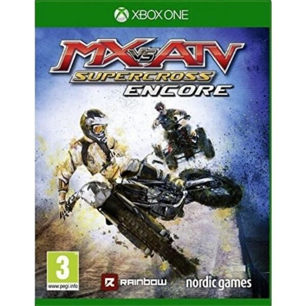 xbox one mx vs atv super cross encore motorbike cross game new ebay. Black Bedroom Furniture Sets. Home Design Ideas