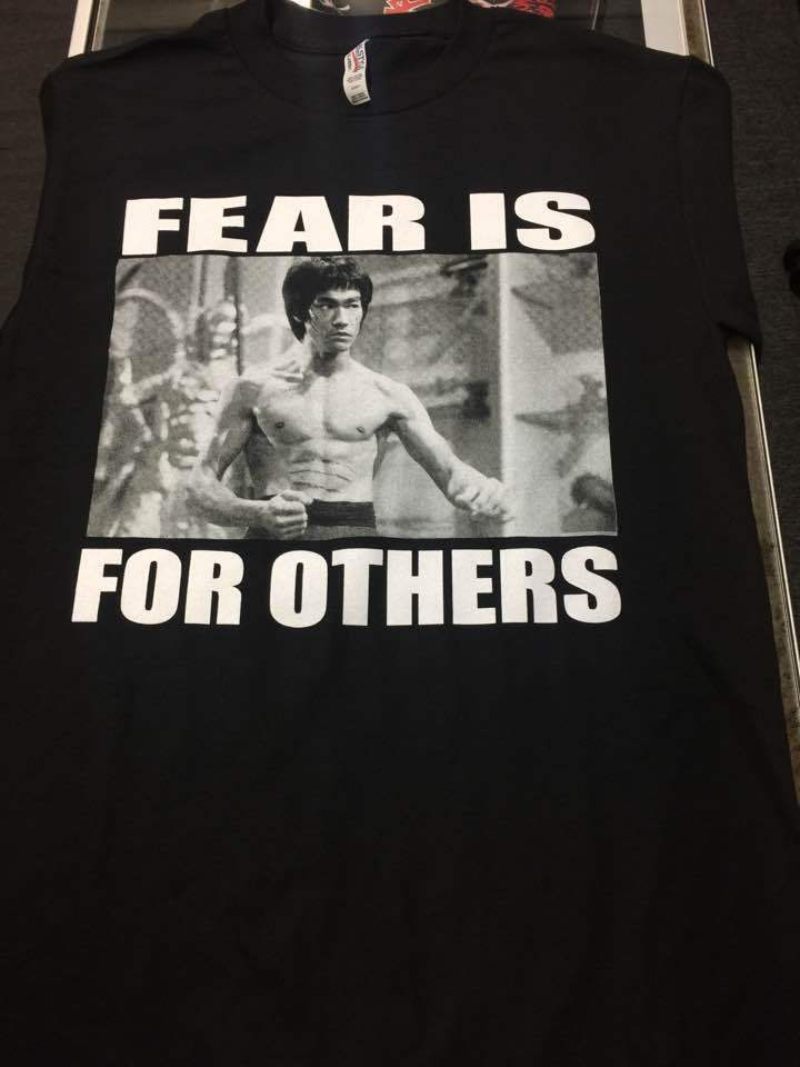 Bruce Lee Fear Is For Others Movie Karate Kung Fu Martial
