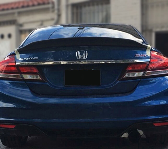 New Carbon Rear Spoiler Wing For Honda Civic 9th