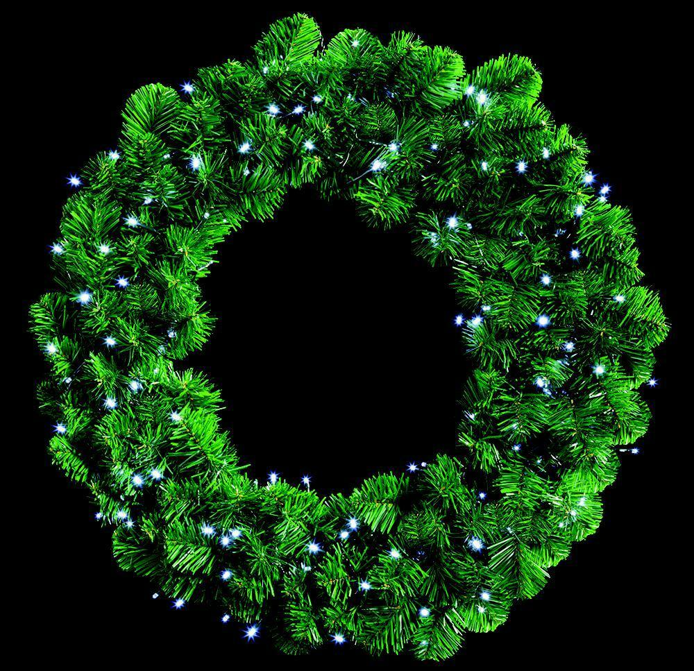 140 White LED Wreath Lights Xmas Lights Indoor Outdoor Christmas Decoration