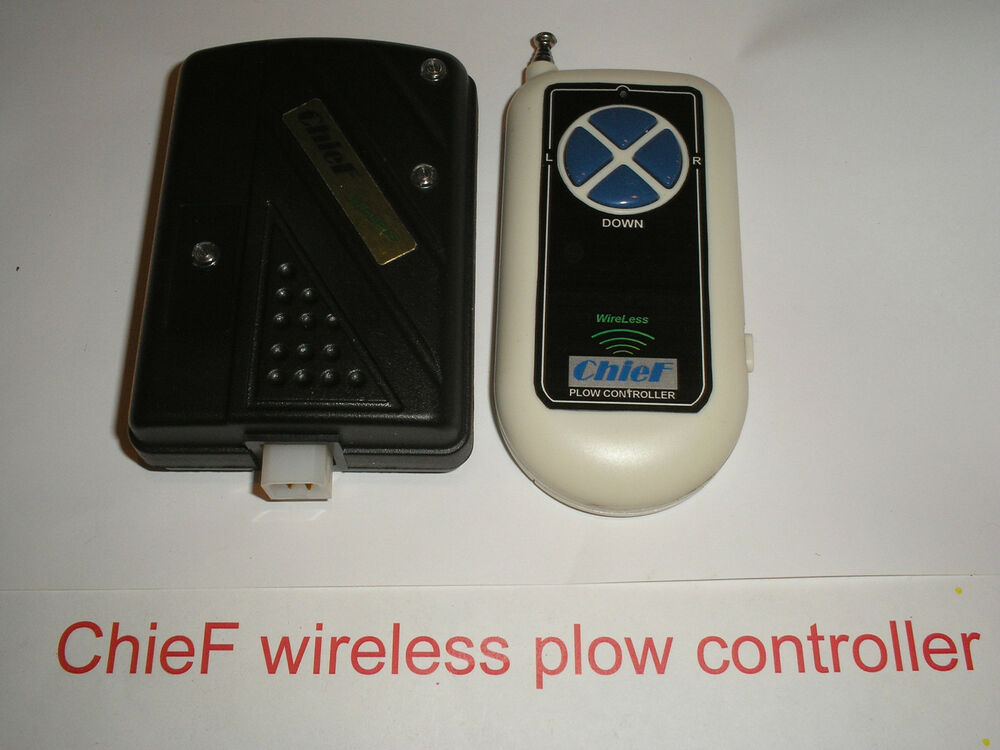 New    Chief Wireless Plow Controller For Western Hts