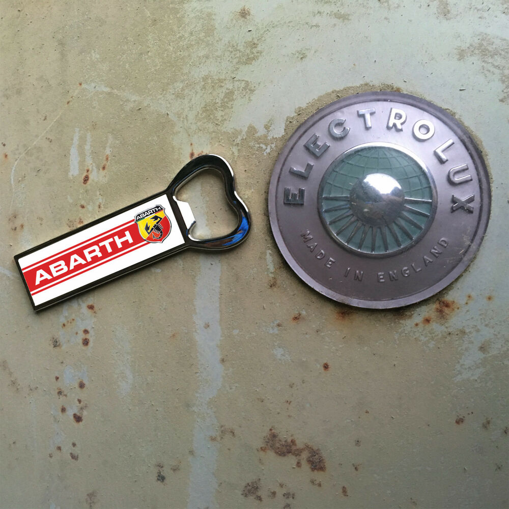 Fiat Arbarth Bottle Opener Fridge Magnet Ebay