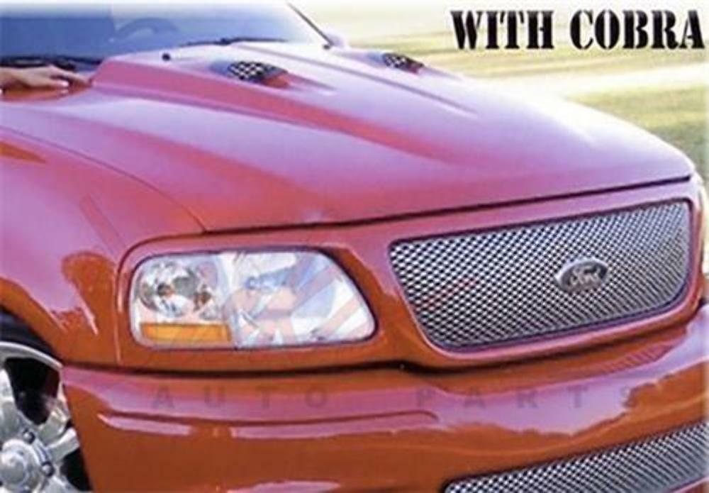 New 1997 2003 ford f 150 truck 2 cowl induction hood for I s bains cowling