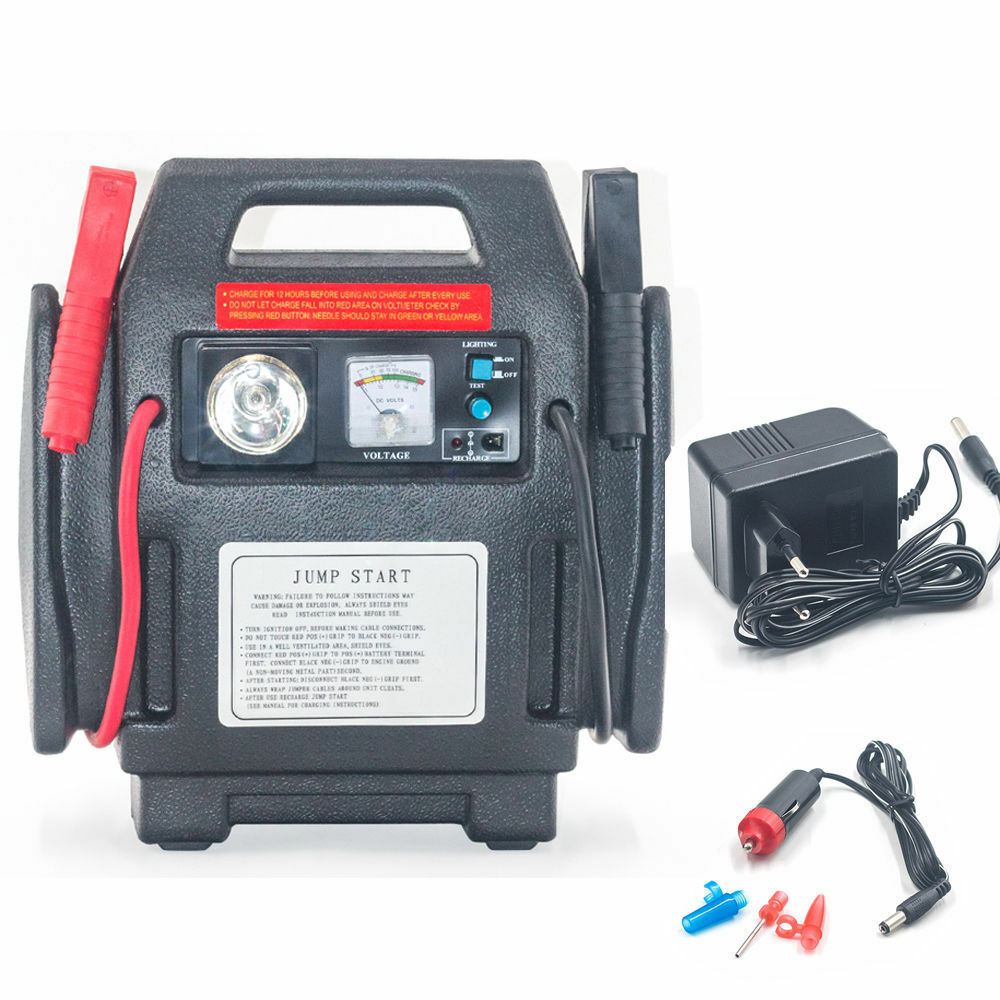 Jump N Carry 900 Peak Amp 12 Volt Jump Starter Battery