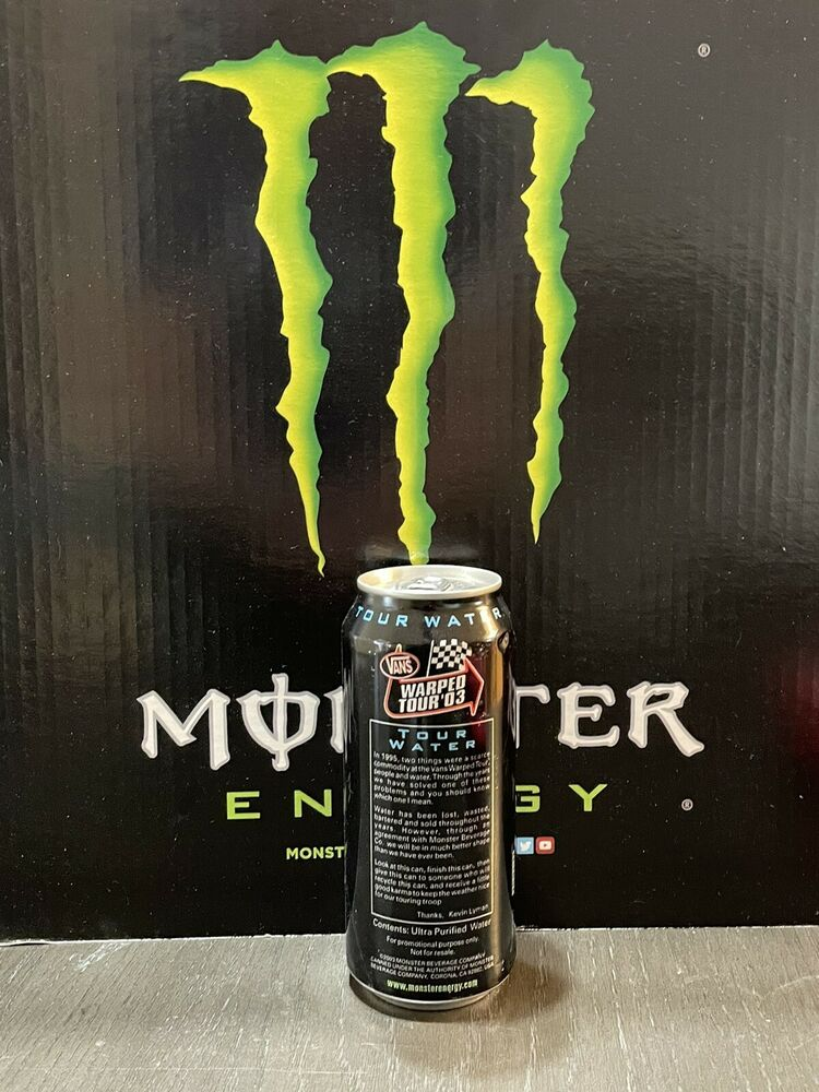 Rockstar Energy Drink Blackout. 2 Full Cans Lot. New Latest Addition ...