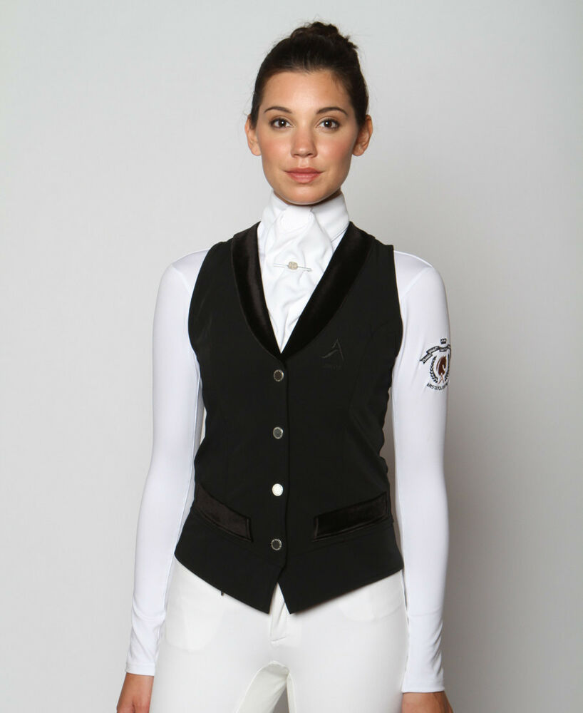 Arista Modern Dressage Vest In Black Navy Or Grey Ebay