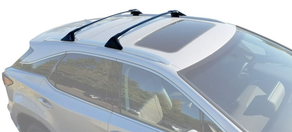 brightlines crossbars cross bars roof racks    lexus rx rxh oe  ebay