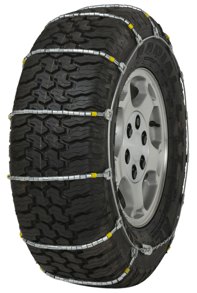 285 70 17 285 70r17 cobra jr cable tire chains snow traction suv light truck ice ebay. Black Bedroom Furniture Sets. Home Design Ideas