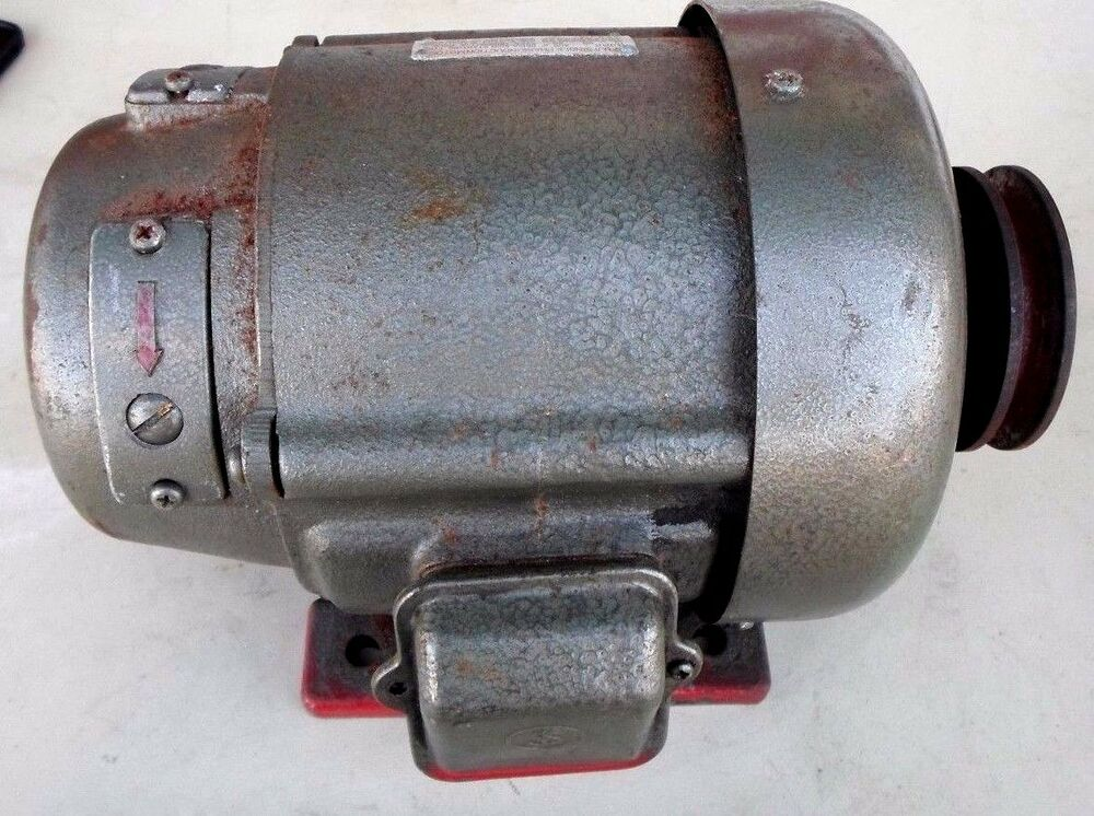 Fuji single phase induction motor repulsion 1 2 hp 1440 for 1 2 hp induction motor
