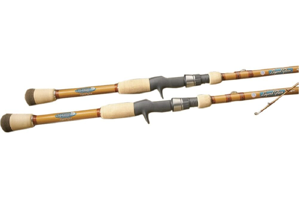 St croix legend glass casting rod 7 39 4 med heavy mod 1pc for Glass fishing rods