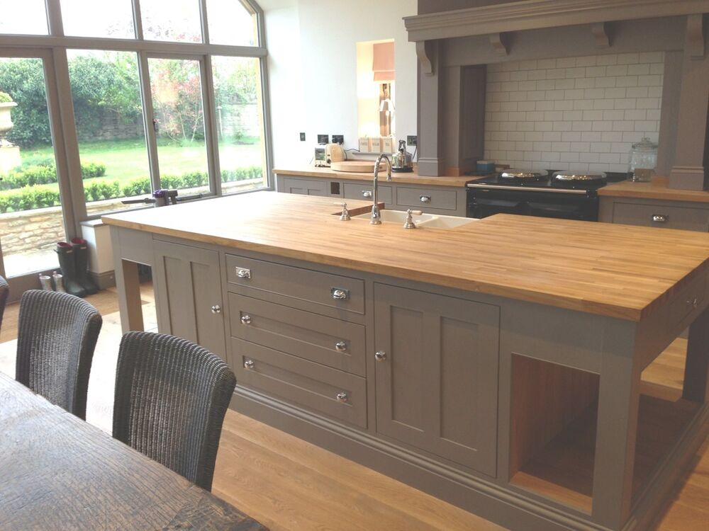 painted kitchen islands kitchen handmade bespoke painted kitchen and island 14509