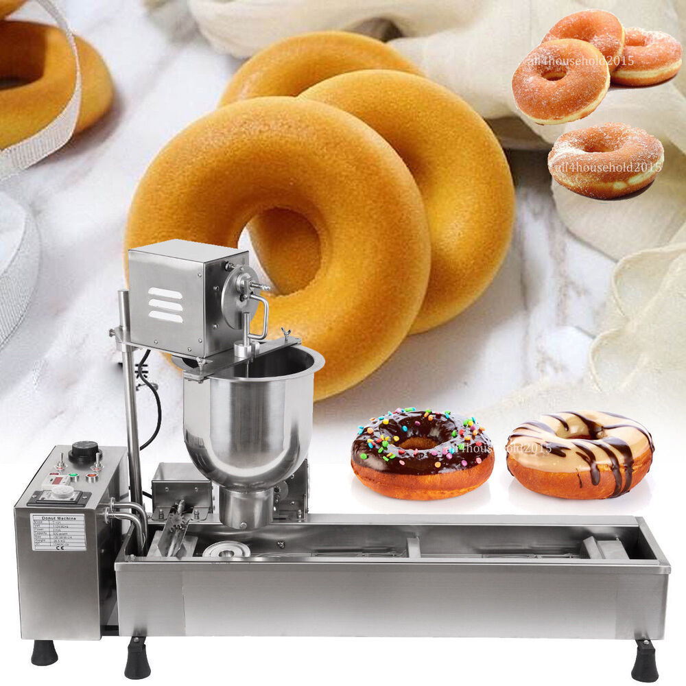 Commercial Automatic Donut Maker Making Machine Wide Oil