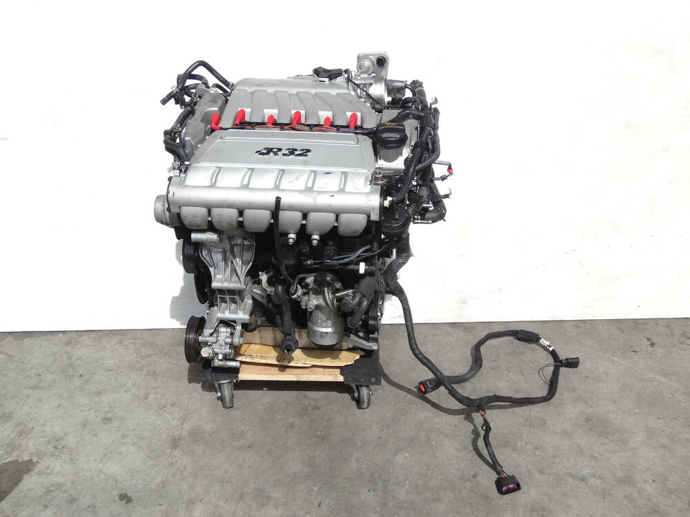 vr6 engine mk4 vw r32 awd vr6 3 2l engine motor cylinder head block assembly complete 181k