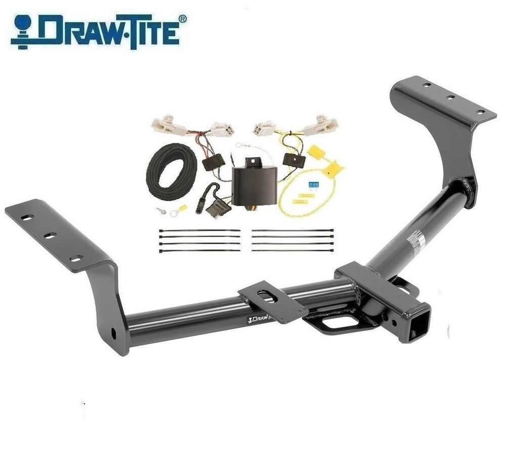 class 3 drawtite trailer hitch  u0026 wiring for 2013