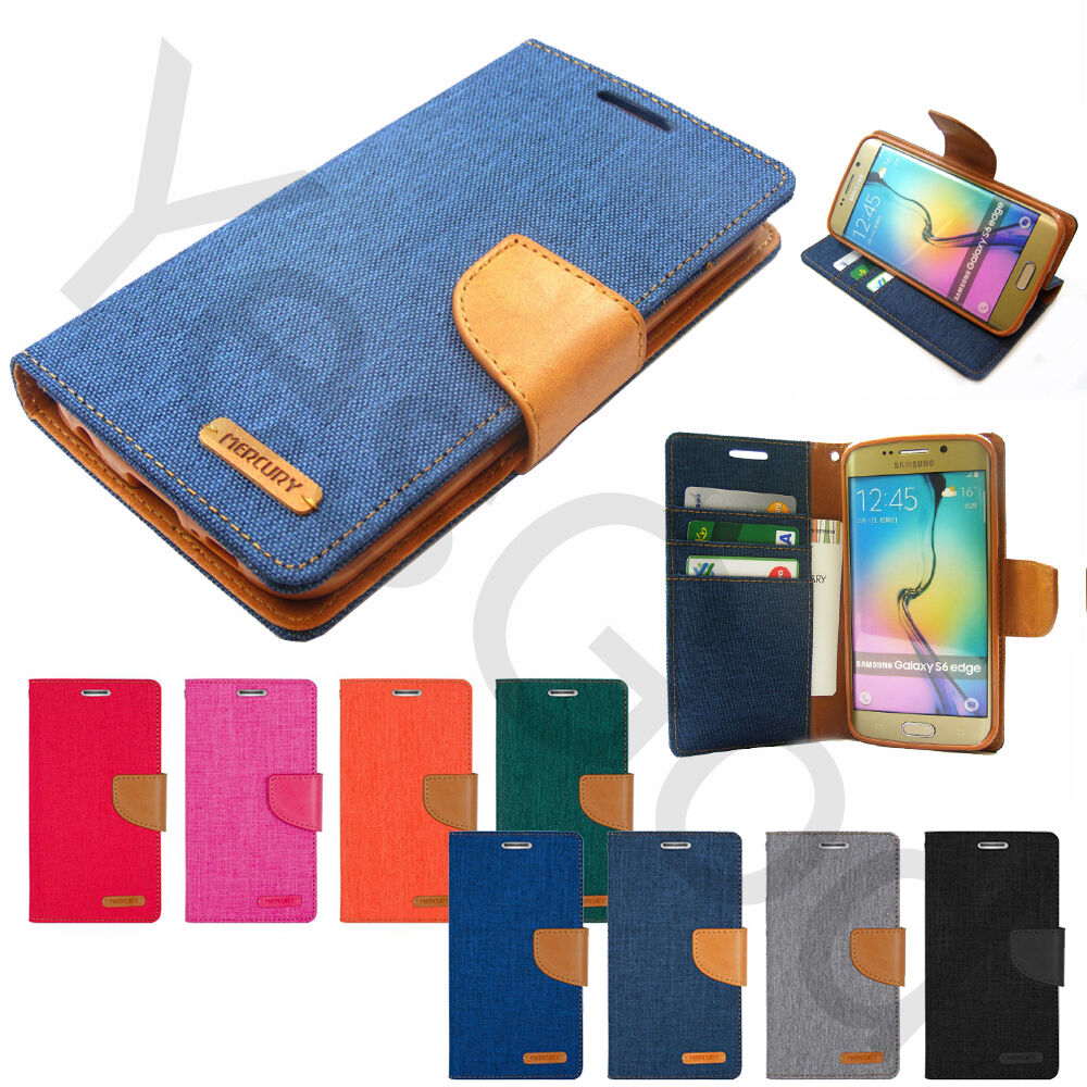 For Iphone Galaxy Lg Canvas Diary Slim Flip Leather Wallet Case Goospery Samsung S6 Green Cover Ebay