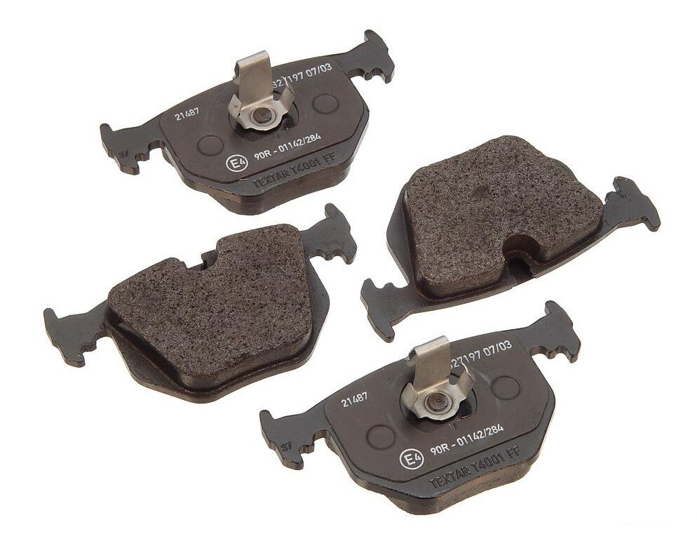 Rear Brake Pad Set Oem Textar Pads For Bmw E38 E46 E53 X5