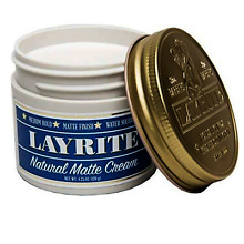 Layrite Natural Matte Cream Pomade 4.25 Ounces