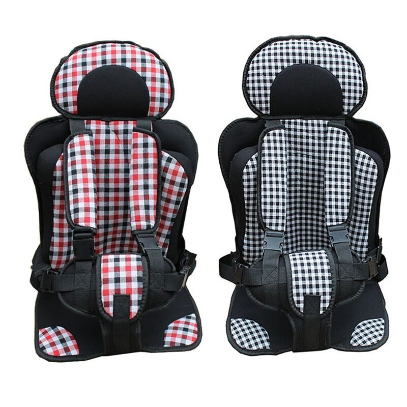 baby car seat grid cushion toddler adjust trips protective comfy safety seats ebay. Black Bedroom Furniture Sets. Home Design Ideas