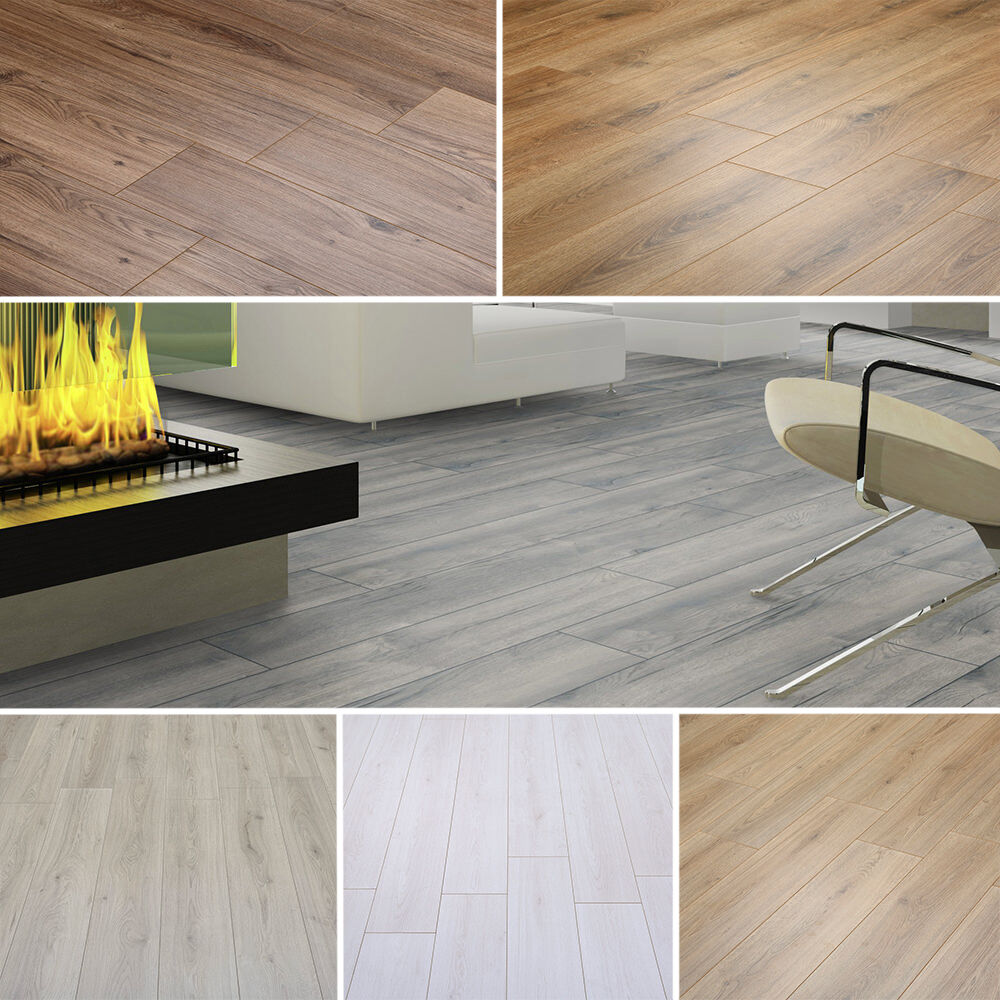 High Quality Laminate Flooring 8mm Thick, FAST FREE