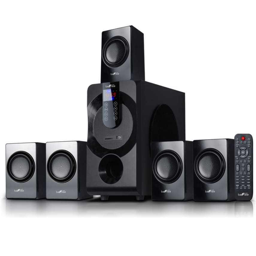 bluetooth wireless sound 5 1 channel surround sound home theater speaker system ebay. Black Bedroom Furniture Sets. Home Design Ideas