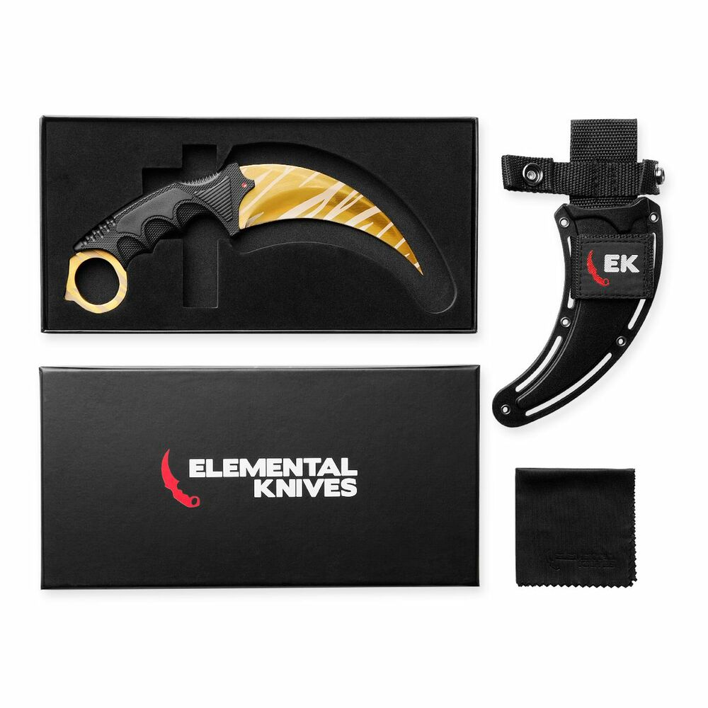 elemental knives tiger tooth real csgo knife skin counter strike cs