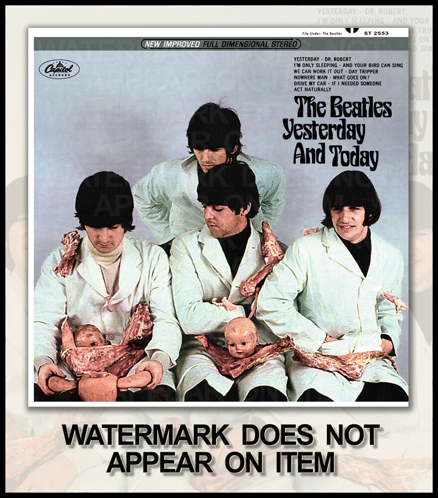 the beatles yesterday and today butcher fantasy album cover 4 ebay. Black Bedroom Furniture Sets. Home Design Ideas